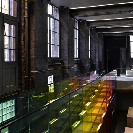 Graphic Designer Peter Saville And Architect David Adjaye Have Collaborated To Design A New