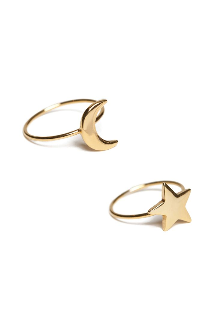 LUNA 2-PACK RINGS, view-small | IvyRevel