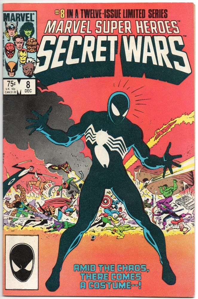 Details about MARVEL SUPERHEROES SECRET WARS #8 1ST