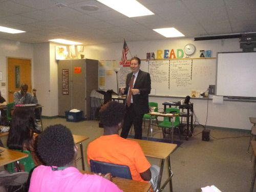 Evan Guthrie Law Firm spoke at Woodland High School College And Career Fair in Dorchester, SC on Wednesday February 24, 2016. #woodland #high #school #college #career #fair #southcarolina #speech #careers #Lawyer #attorney #legal #profession #business #volunteer #donate #time #money #fun #highschool #food #lunch #wings #colleges #wisdom #advice #students #law #care #personalinjury #immigration #estateplanning