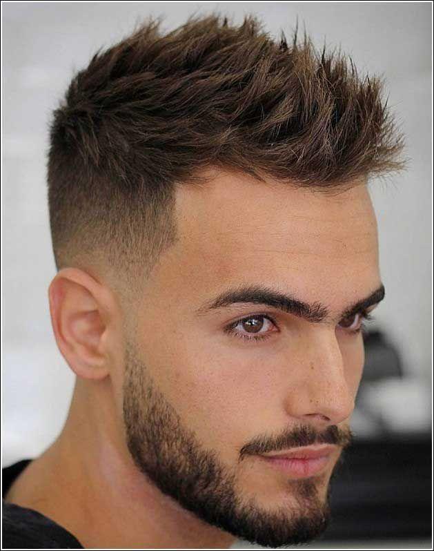 Mannerfrisuren Seitlich Kurz Oben Lang Mannerfrisuren Seitlich Maenner Kurze Haare Stylen Herrenfrisuren Haare Stylen