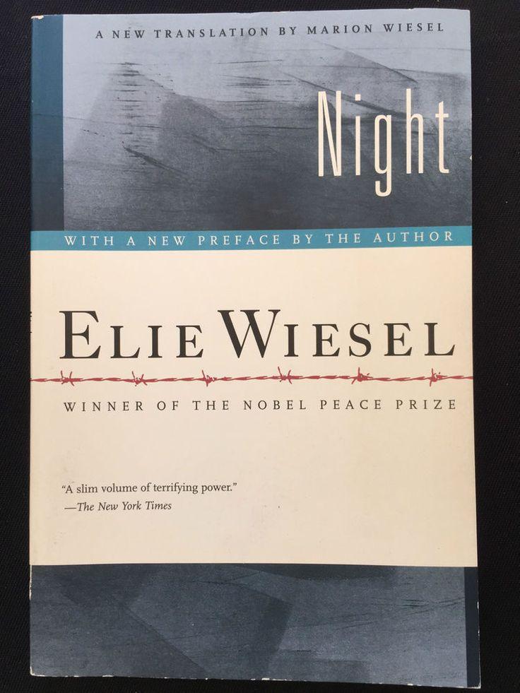 Ellie Wiesel Night Paperback