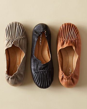 Leather Flats From Chocolat Blu™, Territory Ahead