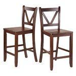 "Steve Silver Furniture Branson 24"" Bar Stool & Reviews   Wayfair"