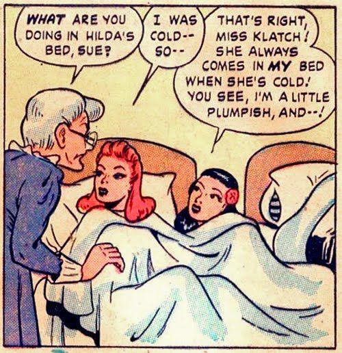 Lesbian dominatrix comics