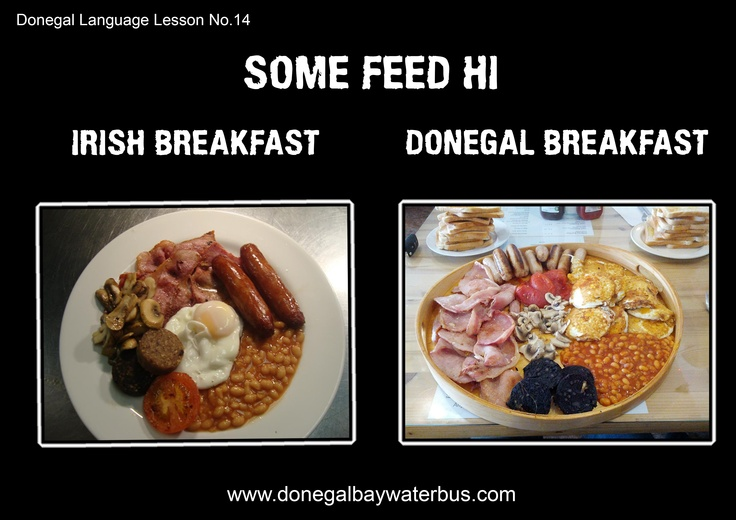 A lighthearted look at that special brand of the English language spoken in Donegal, Ireland