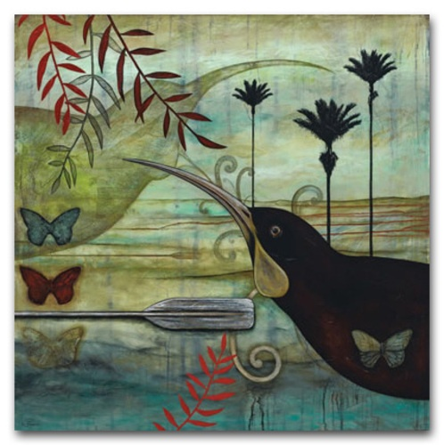 The Huias Guardian - Canvas - Canvas + Prints - Verge Gallery Kathryn Furniss