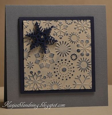 snowflake Cuttlebug