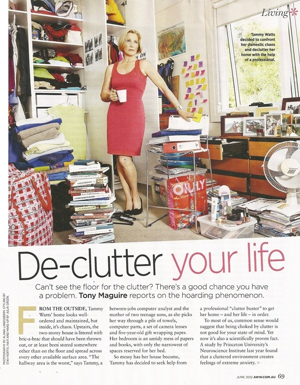Less Is More featured in the Australian Womens' Weekly