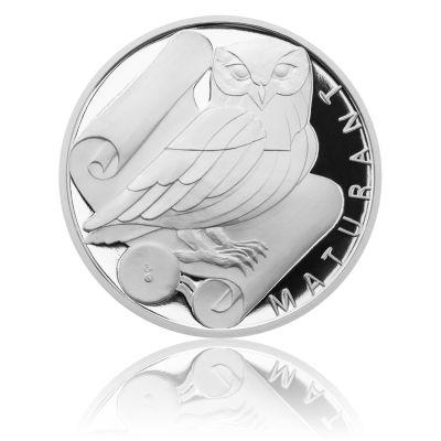 Stříbrná titulární medaile Maturant s věnováním proof | Česká mincovna