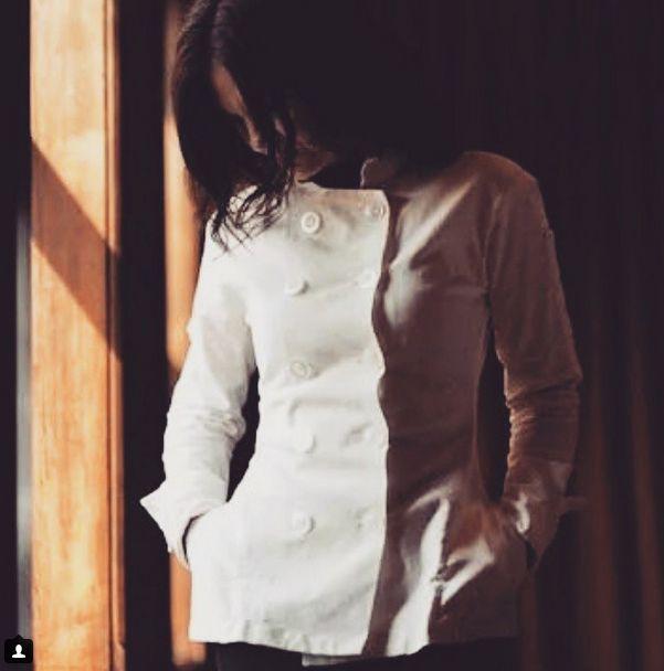 Women's designer chef coats