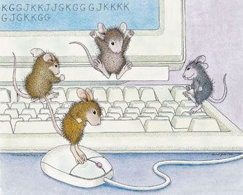 """""""This card is blank"""" from House-Mouse Designs®"""