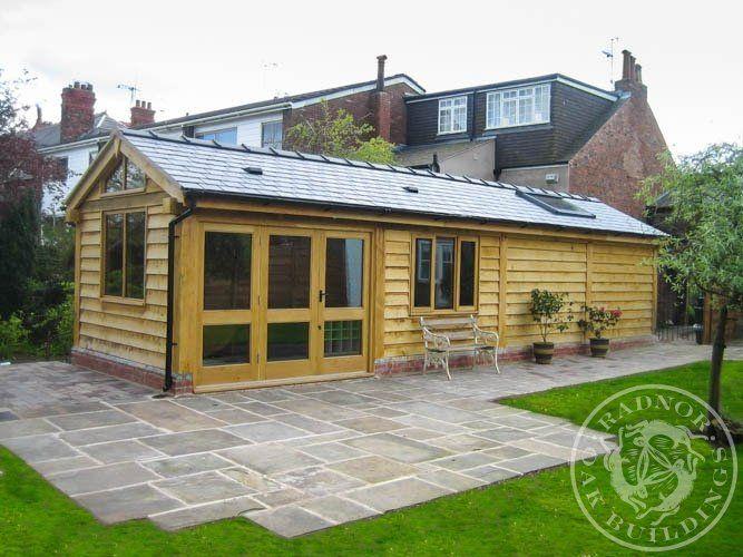 Radnor Oak   Home Office   Oak Framed Office   Annex   Oak Garden Room