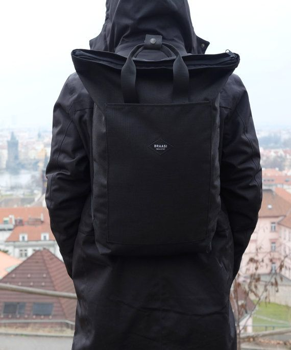 WATERRESISTANT URBAN BACKPACK FROM CORDURA 1100D WITH A4 FRONT POCKET ZIPPER CLOSING (YKK) SUITABLE FOR NOTEBOOK 17,3 NOTEBOOK, VOLUME 16 L DIMENSIONS H*W*D: 59*30*9 CM, ,,V SHAPE CUT UPPER FABRIC: CORDURA 1100D LINING: GRAY WITH INSIDE POCKETS (100% PES), WITH WATERPROOF COATING HARDWATRE: YKK (ZIPPER, BUCKLE) BACKSIDE POCKET FOR WALLET, PHONE,... (20*25 CM) PADDED BACK, THRACIANS WITH SOFT PADDING