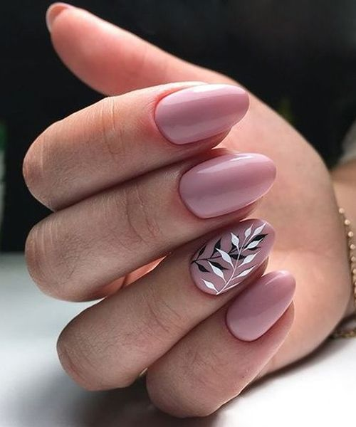 22 Jaw Dropping Leaf Nail Art Designs You Will Surly Love