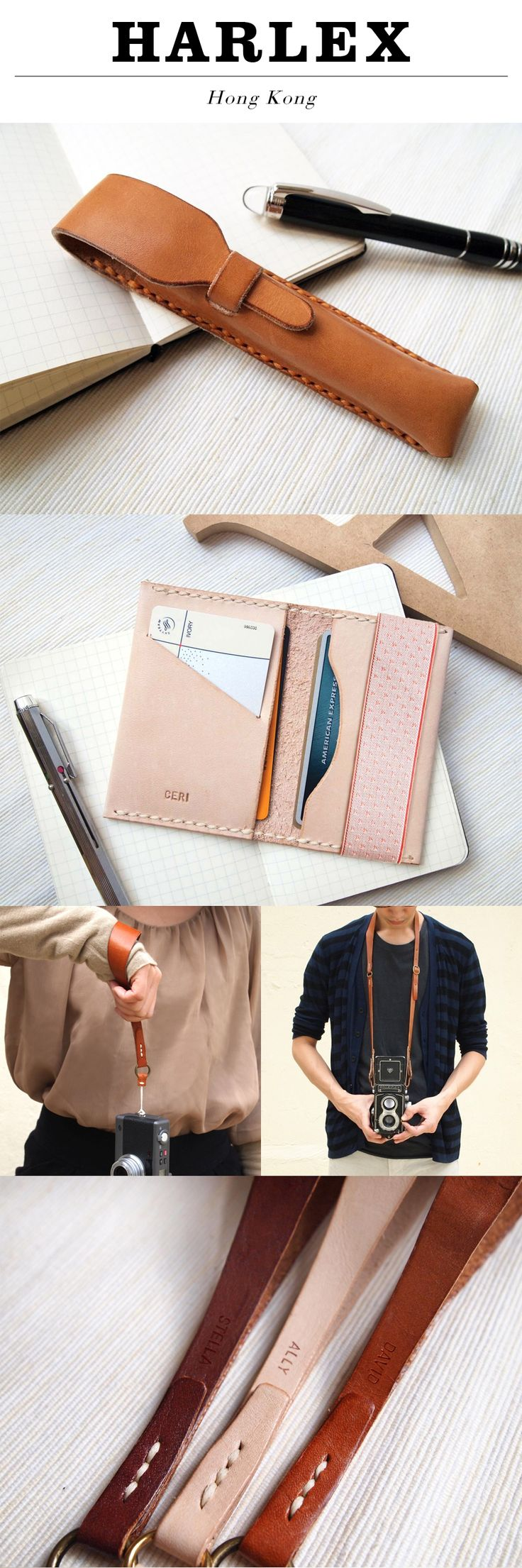 Pen cases -----  camera straps. Leather can be used to make just about anything. -Daniella