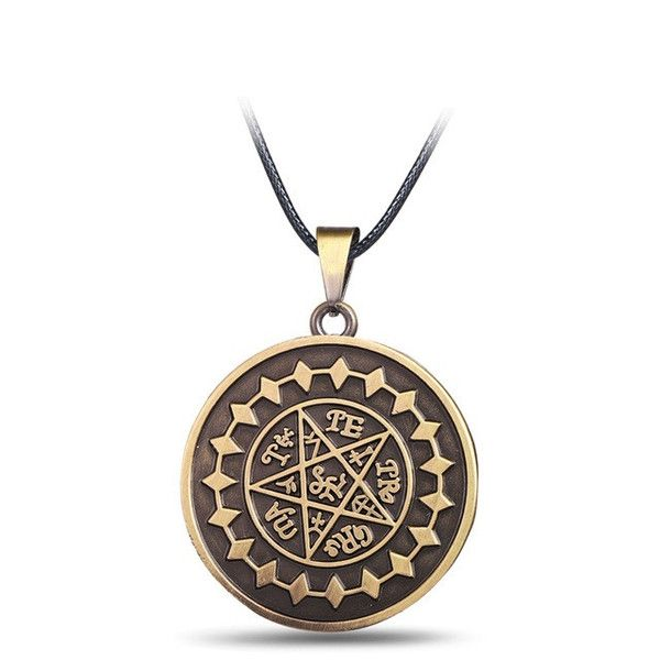 Black Butler Demon Eye Pentagram Necklace - OtakuForest.com