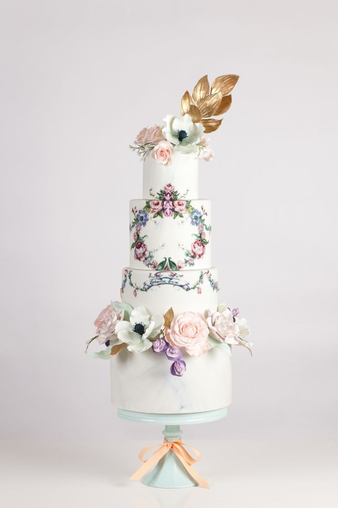 NADIA & CO. Additional Details Opulent, Passionate, Imaginative Cakes | Price Range: $10- $15 | Cake Specialty: Painting on Cakes