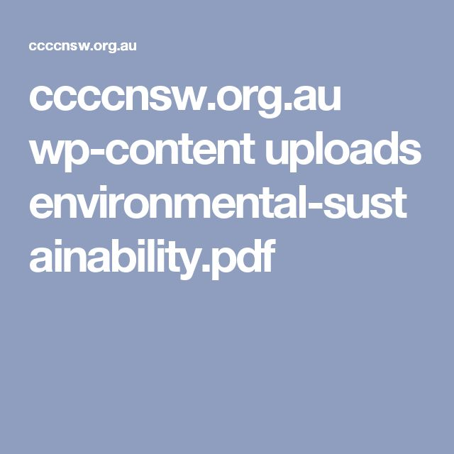 ccccnsw.org.au wp-content uploads environmental-sustainability.pdf