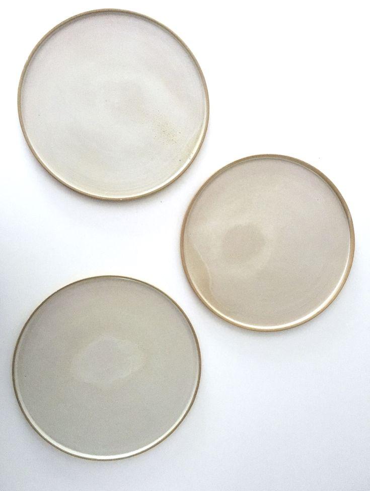 Pastel plates by spiek ceramiczny