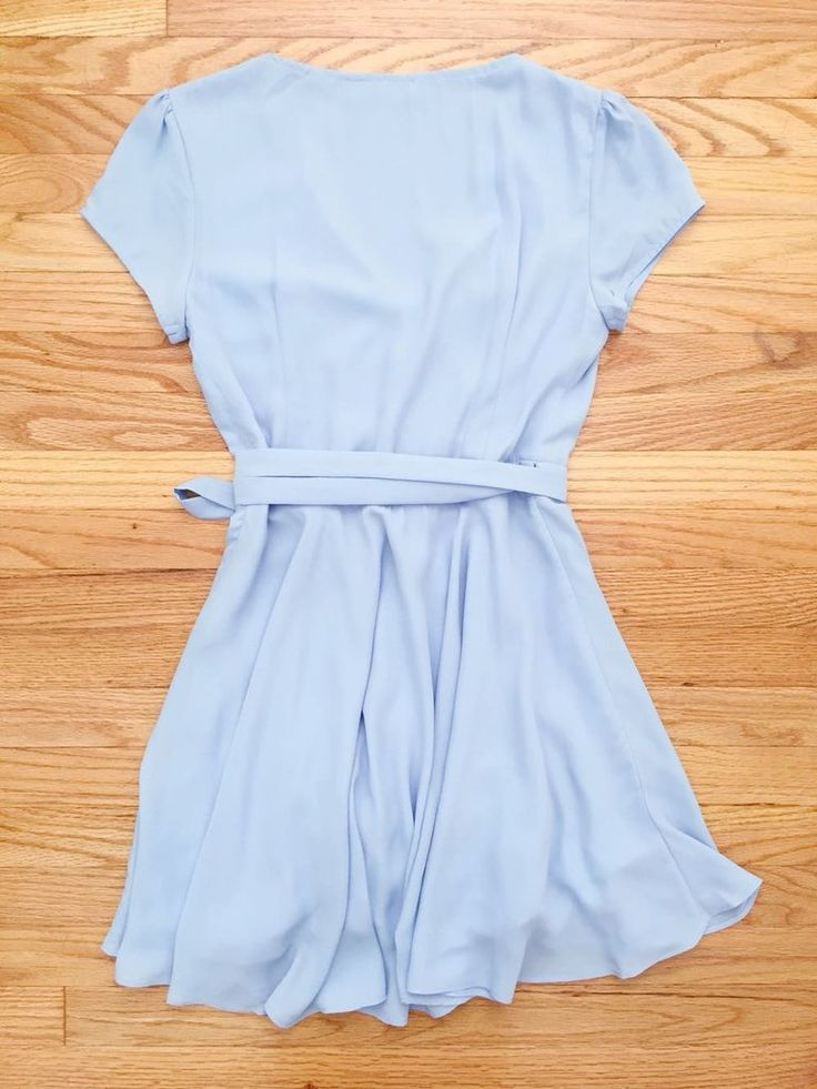 Blue Summer Swing Party Dress