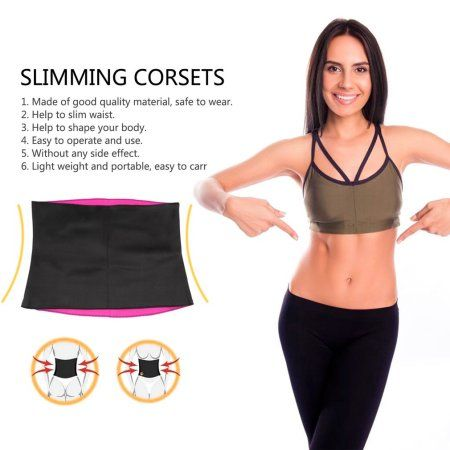 0ae508c70459f Women Neoprene Healthy Slimming Weight Loss Waist Belt Body Shaper Corsets   weightlossworkout