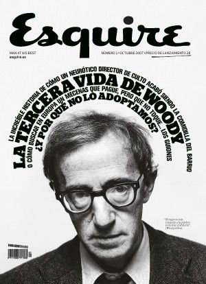 Woody Allen Esquire CoverBeautiful Magazines, White Design, Covers Magazines, Mirrors Image, Esquire Covers, Allen Esquire, Esquire Magazines, Woody Allen, Magazines Covers