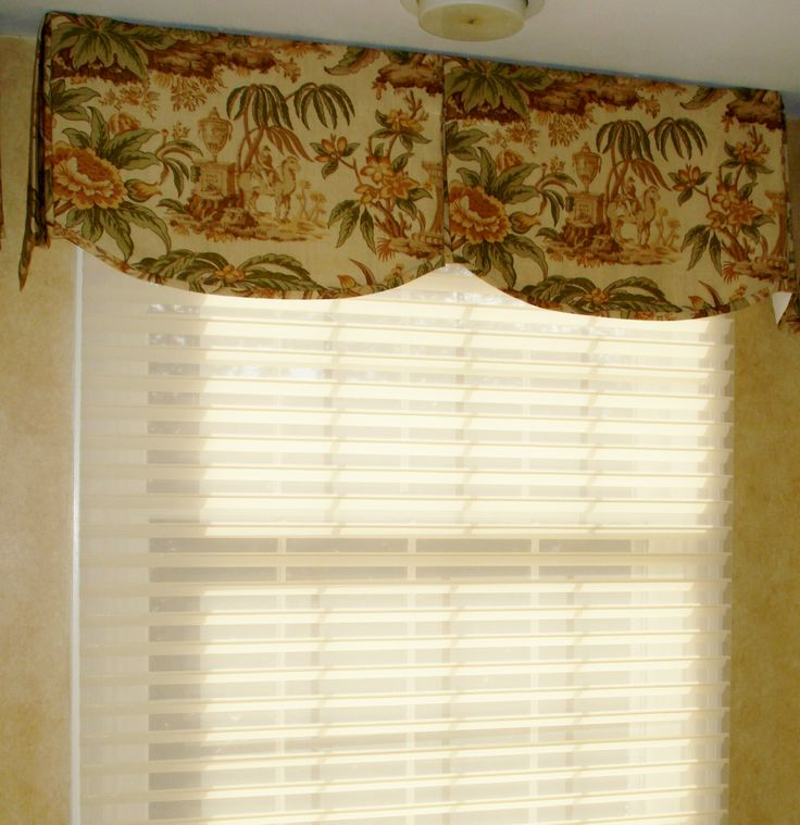 39 best images about box pleated valances on pinterest for Window valance box