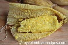 Bollos de Mazorca is a traditional and simple Colombian dish that uses fresh corn, which is a perfect dish during the corn harvesting season. This simple and tasty dish consists of corn rolls wrapped with corn husks and then steamed, usually served warm with butter and cheese.