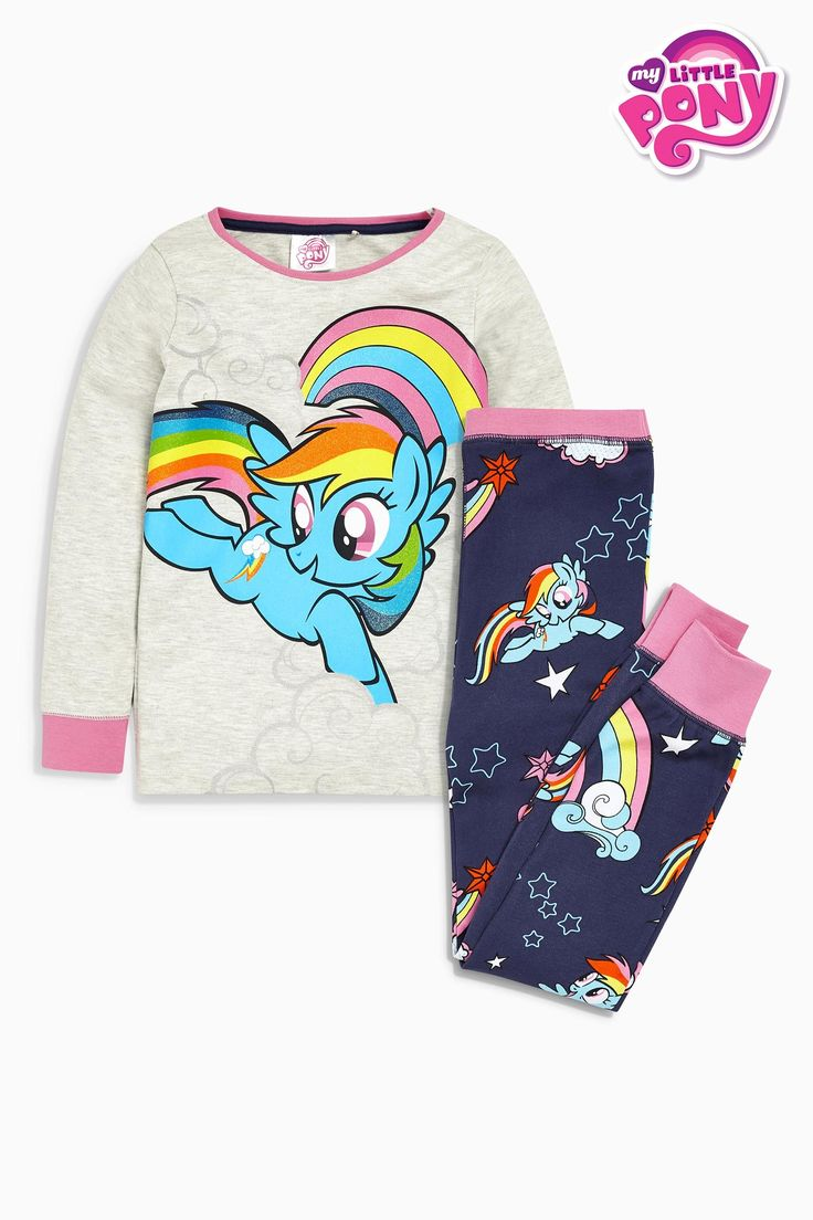 Buy Navy My Little Pony Pyjamas (9mths-8yrs) from the Next UK online shop
