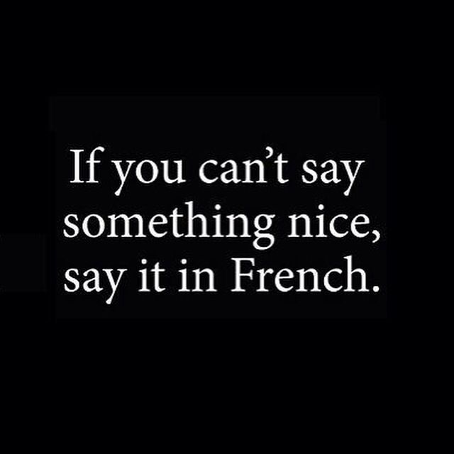 how to say you have in french