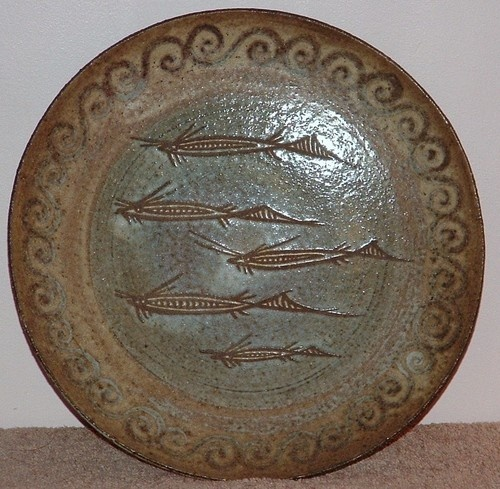 SALT GLAZE - STUDIO POTTERY - FISH - WALL PLATE - COLLECTABLE - VINTAGE - | & 9 best Salt glazed Pottery images on Pinterest | Glazed pottery ...