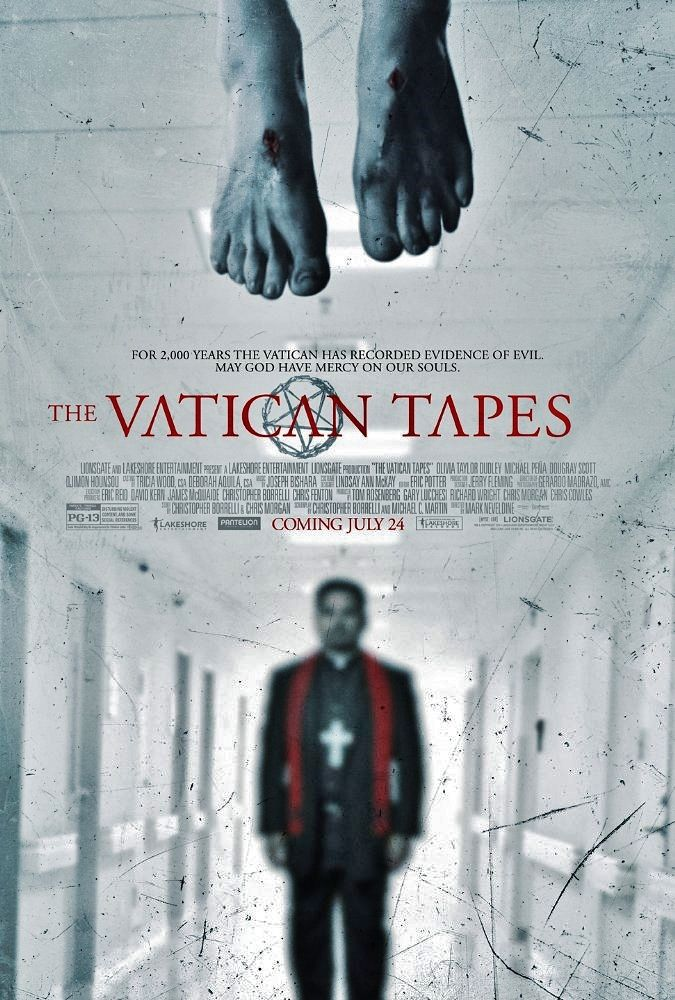 THE VATICAN TAPES 2015 Olivia Taylor Dudley (The Magicians)