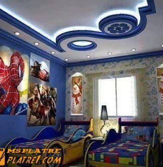 platre1 ms timicha des faux plafond chambre à coucher chambre à coucher avec le design tendance de la décoration marocaine contemporaine Trouvez