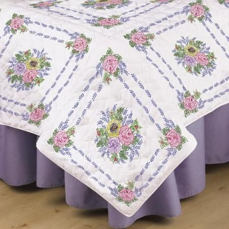 82 best Embroidery quilt blocks I have images on Pinterest | Guest ... : stamped embroidery quilt kits - Adamdwight.com