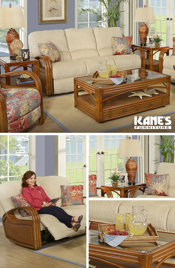 Palmetto 5Pc Reclining Living Room Group