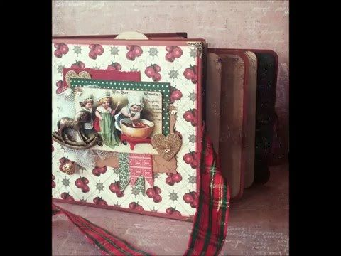 Mini Album - *The Magic Of Christmas...* (MakaArt) #1 - YouTube