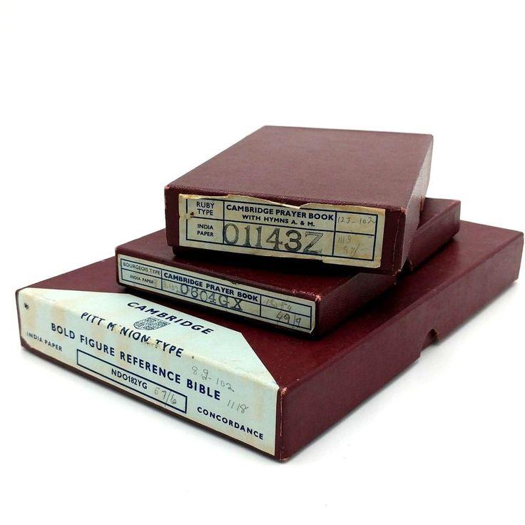 Vintage cambridge holy bible authorised king james 2