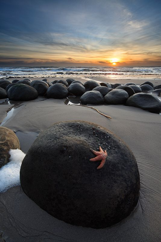 Bowling Ball Beach, Mendocino, CA  I have been here but it was at high tide so I couldnt see the big bowling ball rocks