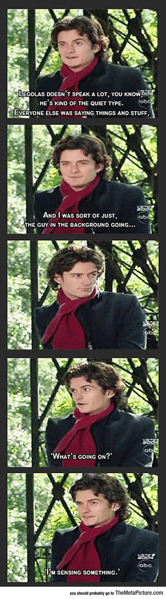 Legolas Doesn't Speak