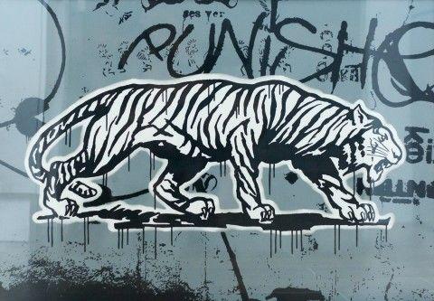 illustration - Coté Escrivá - The Mushroom Company - tiger