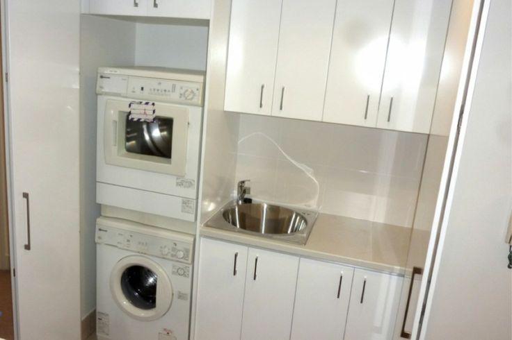 bi fold laundry cupboard