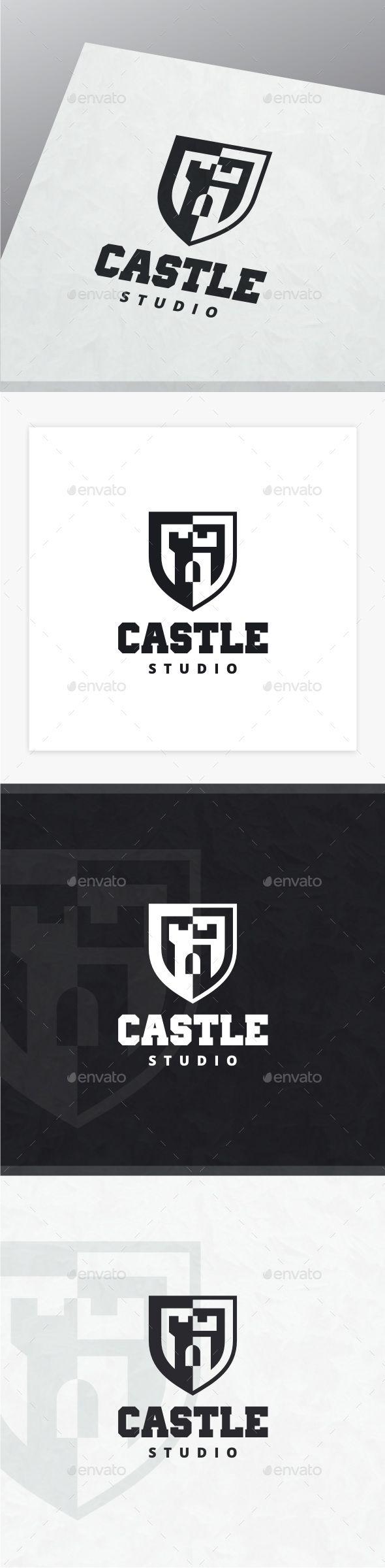 Castle Logo  — PSD Template #fort #design • Download ➝ https://graphicriver.net/item/castle-logo/18395040?ref=pxcr