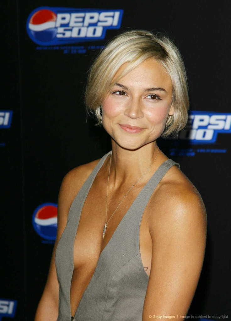 Samaire Armstrong-wish I could look good with this hair