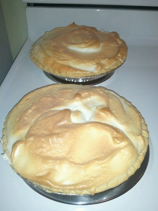 Mile high lemon lime meringue pie...Yum | Desserts | Pinterest