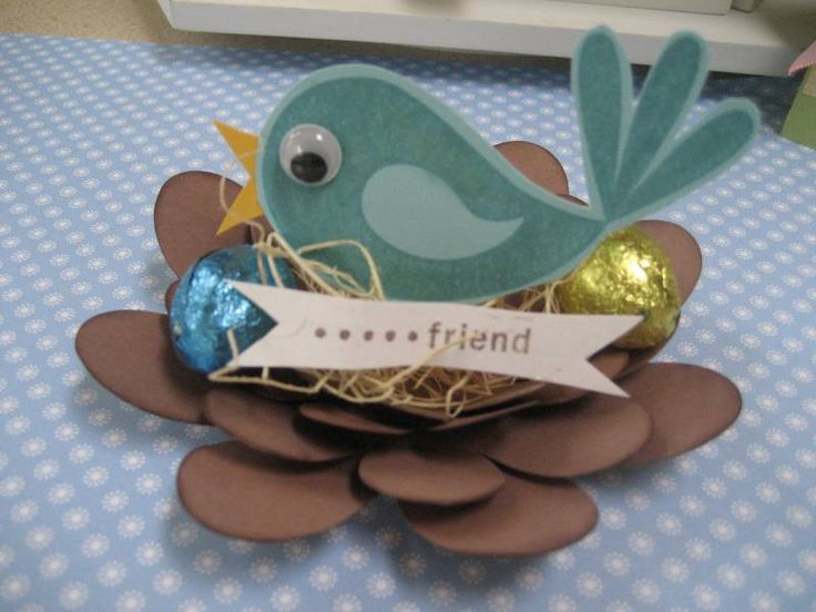 Good Friend Bird Nest by forever designing - Cards and Paper Crafts at Splitcoaststampers