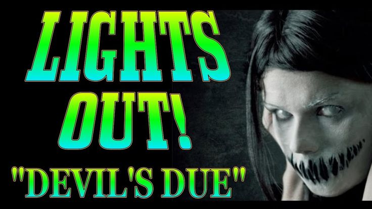 LIGHTS OUT! Old Time Radio Drama! DEVIL'S DUE