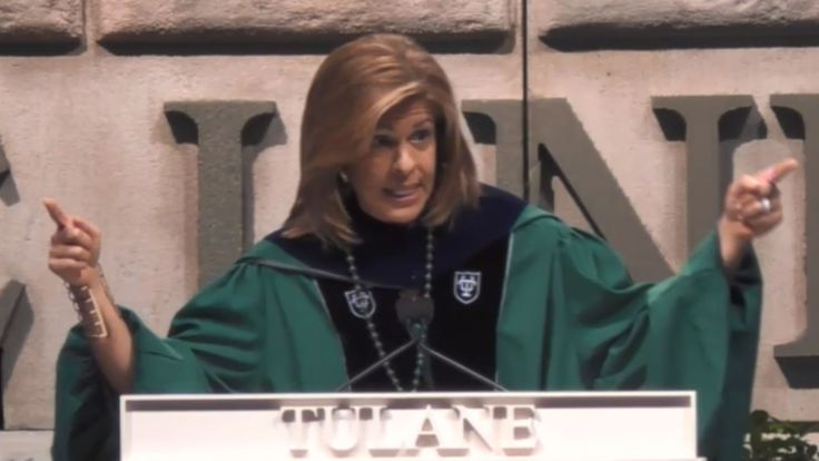 Hoda Kotb's Tulane commencement speech offers 10 life lessons for grads - TODAY.com