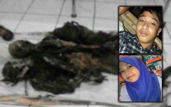 Pasangan Kekasih Malang Dirompak Dan Dibunuh Kejam (11 Gambar)   Jawa Barat Indonesia  Identiti dua mayat yang ditemui dalam keadaan ngeri dengan kaki dan tangan terikat di Pantai Rongkang Kwanyar Barat di sini pada Sabtu lalu telah dikenalpasti.  Mayat yang dipercayai mangsa rompakan itu dikenalpasti sebagai sebagai Ahmad 20 dan Ani Fauziyah Laili 17 pasangan kekasih yang berasal dari Tragah.  Ketua Polis Kwanyar Barat Anton Widodo berkata berdasarkan keterangan daripada pihak keluarga…