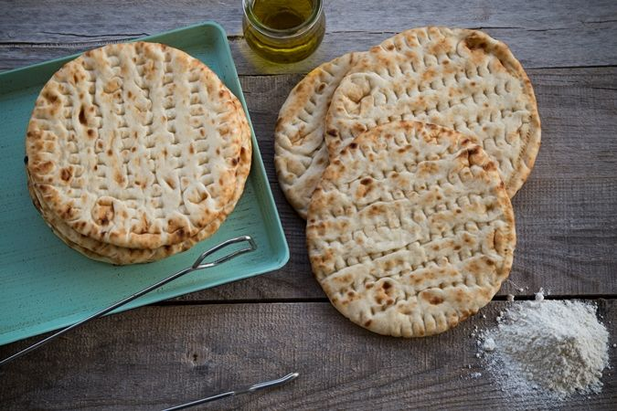Πίτα για σουβλάκι χωρίς γλουτένη